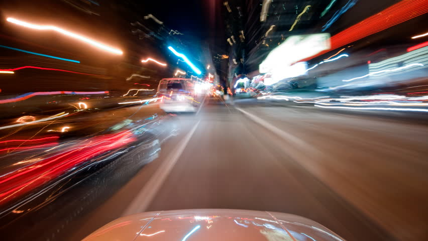 Driving through Brooklyn time lapse  | Shutterstock HD Video #1694155