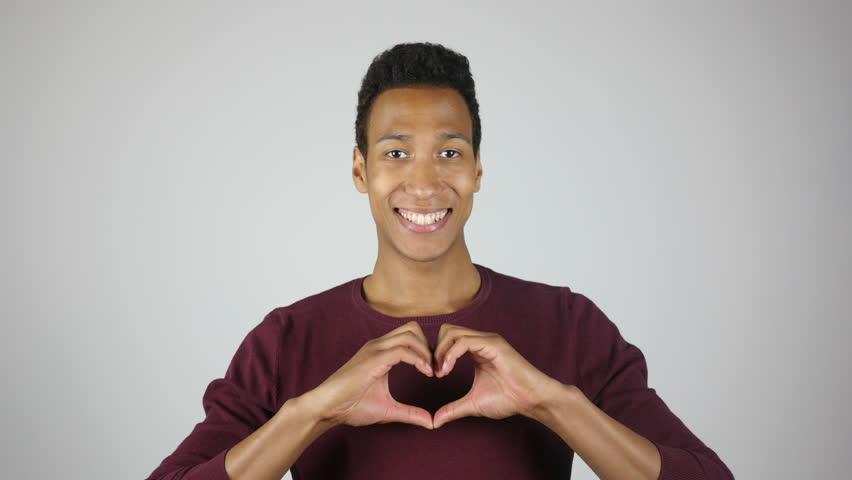Making Heart Shape by Hands, Expressing Love, Gesture | Shutterstock HD Video #17012542