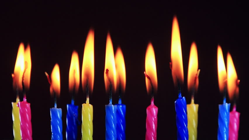 Birthday Candles Burning Time Lipse Stock Footage Video 100 Royalty Free 17017855 Shutterstock