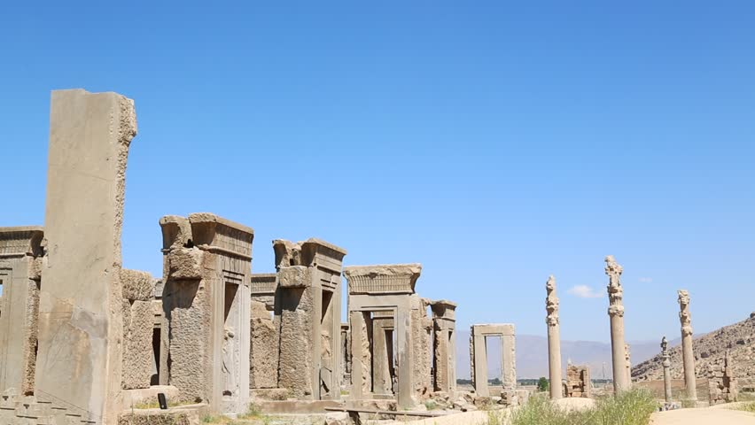 In Iran Persepolis The Old Stock Footage Video 100 Royalty Free 17082526 Shutterstock