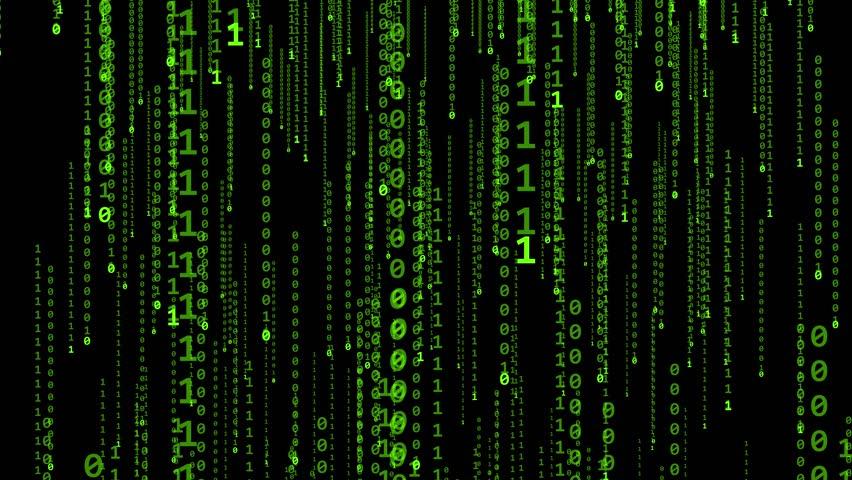 Matrix on a black background   Shutterstock HD Video #17107939