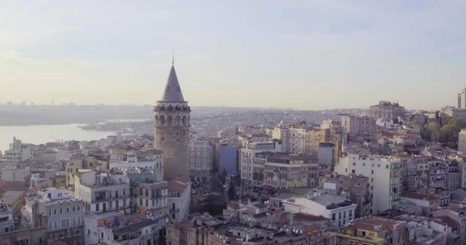 4K istanbul city - Galata -1 #17147515