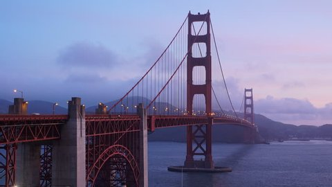 View of the iconic Golden Gate Bridge located in San Francisco, CA.