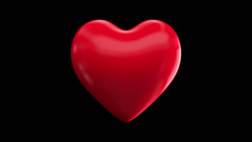 Heart beats (with alpha, loopable) | Shutterstock HD Video #1717663