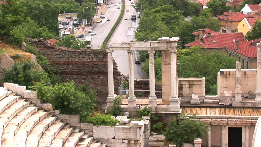 Roman Theater Plovdiv, Bulgaria