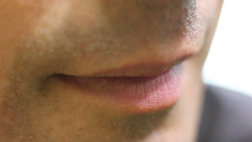 Man Licking His Lips Close up | Shutterstock HD Video #17275597