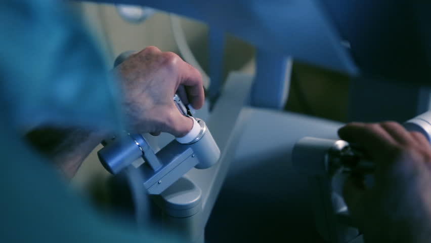Manual control by minimally Invasive Robotic Surgery