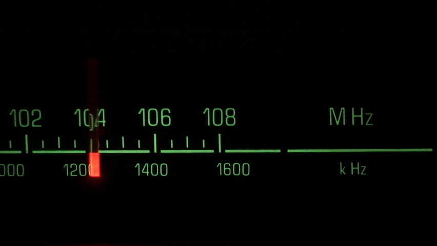 Classic radio receiver fm tune dial panel | Shutterstock HD Video #173959