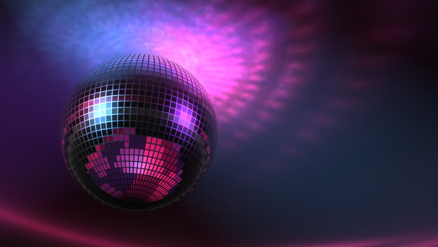 Funky Disco Ball Fast Loopable #1740064