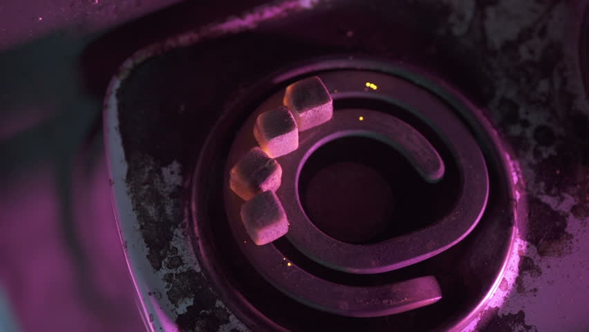 Coals for hookah caught fire on stove | Shutterstock HD Video #17444821