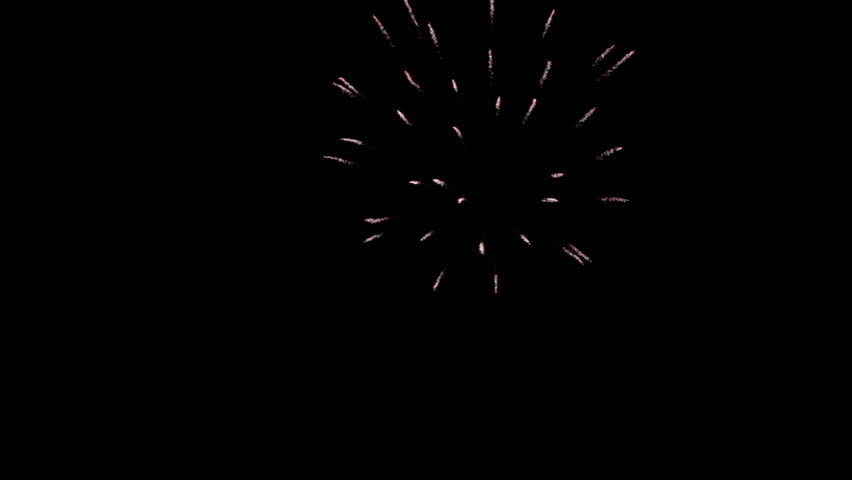 Fireworks Celebration Background - Particle Effects #17593483