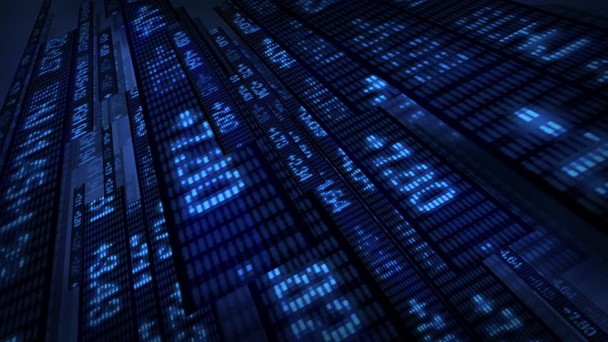 Stock Market Tickers Price Data Animation | Shutterstock HD Video #1769591