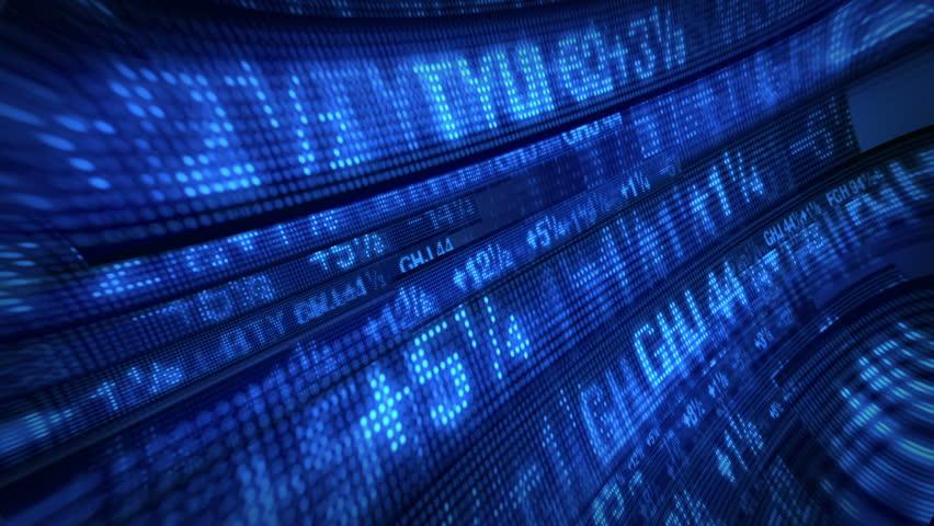 Stock Market Tickers Price Data Animation | Shutterstock HD Video #1769597
