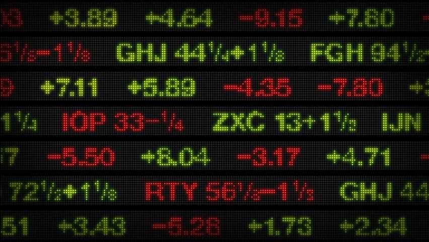 Stock Market Data Tickers Board | Shutterstock HD Video #1769624