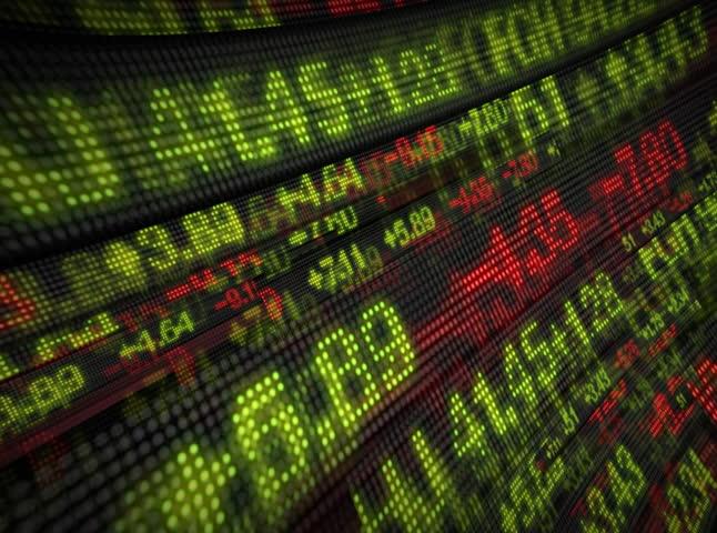 Stock Market Tickers Digital Data | Shutterstock HD Video #1770197