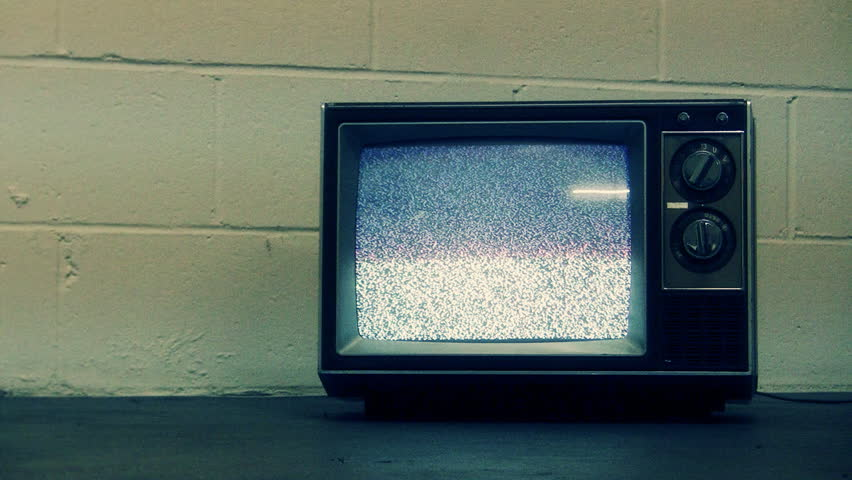 Retro Television and Static | Shutterstock HD Video #1771295