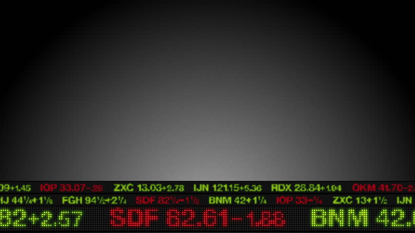 Stock Market Tickers Price Data Animation | Shutterstock HD Video #1771550