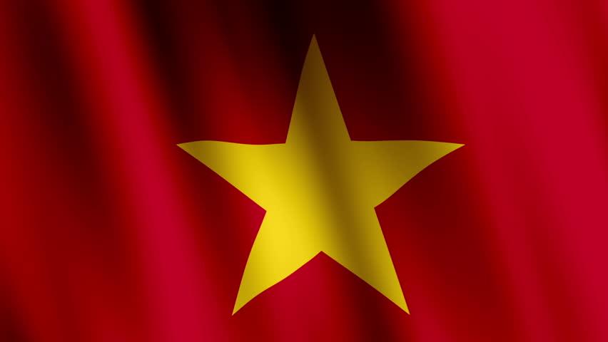 Animated Flag of Vietnam - : vidéos de stock (100 % libres de droit) 17717497 | Shutterstock