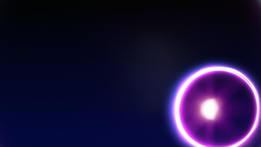 Purple Atomic Globe  #178015