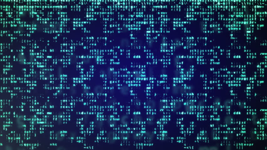Animation of Abstract Blue Technology Background. Binary Computer Code. Programming / Coding / Hacker concept. | Shutterstock HD Video #17812351