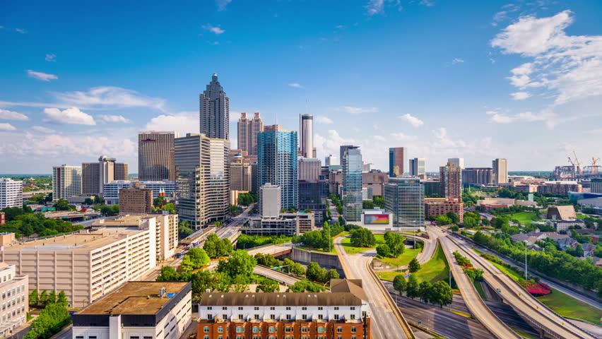Atlanta, Georgia downtown skyline