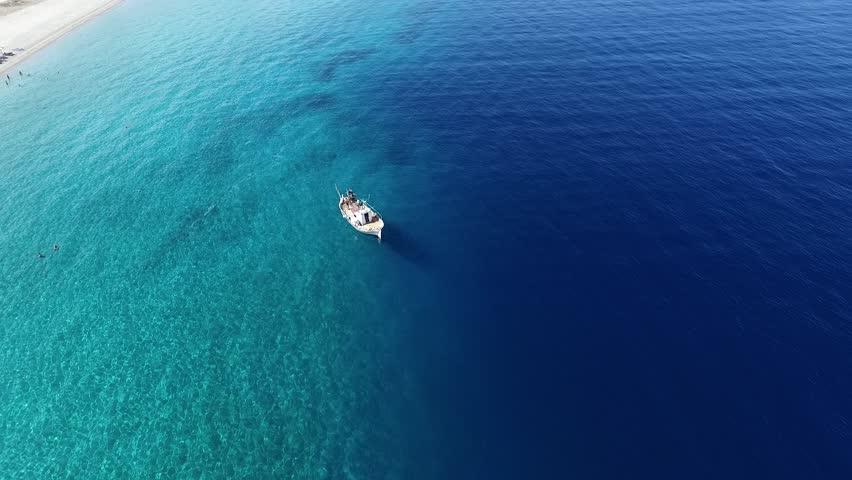 Wonderful  aerial footage from Aegean Sea   Shutterstock HD Video #17922415