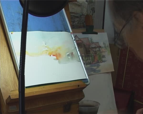 Speed Painting Watercolor
