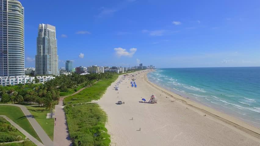 Aerial Miami Beach summer 2016   Shutterstock HD Video #17970403