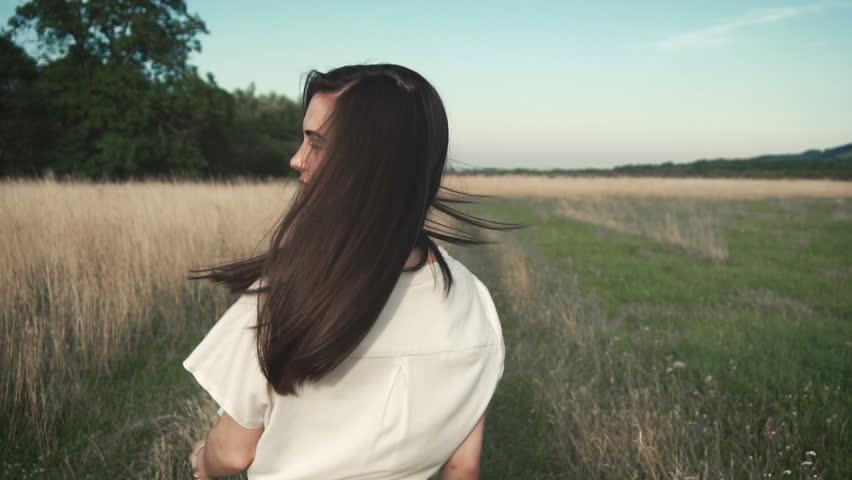 Portrait of beautiful girl   Shutterstock HD Video #17979616