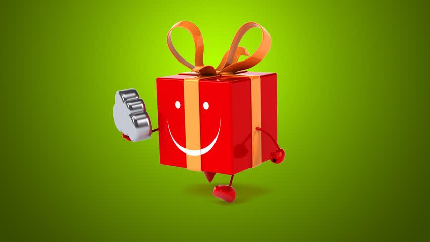 Fun gift   Shutterstock HD Video #17985127