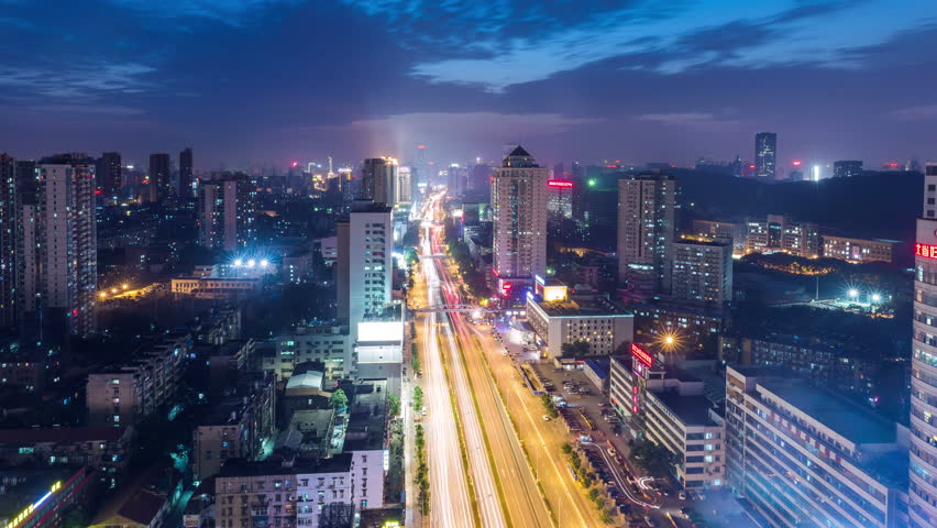 Time lapse of WuHan city,China | Shutterstock HD Video #18059902