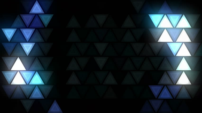 Flashing disco triangle LEDs wall VJ loop for live stage visuals, fashion, events, party, night clubs, concerts, projections, show, exhibitions. Seamless and ready for use in any audiovisual software. | Shutterstock HD Video #18150445