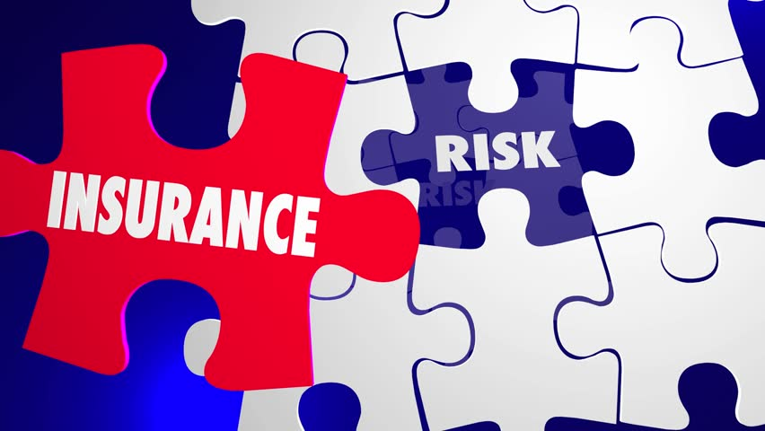 Insurance Vs Risk Security Safety Peace Mind Puzzle 3d Animation | Shutterstock HD Video #18171076