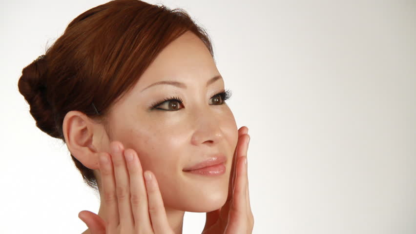 Womans Skincare Stock Footage Video 100 Royalty Free 1819721 Shutterstock