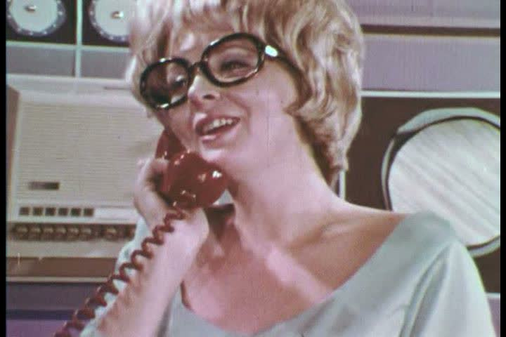 Miss Puff from the Friendly Office Supply Co Sales Department responds to Mr. Kazoo complaint about his Xerox machine toner. (1960s)