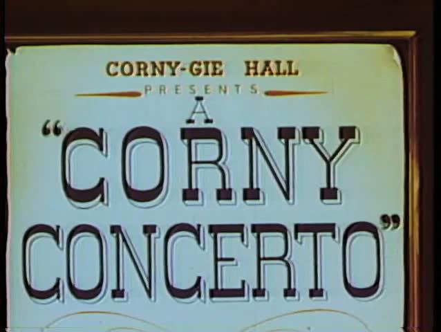 Cartoon of Corny Concerto sign   Shutterstock HD Video #1833383