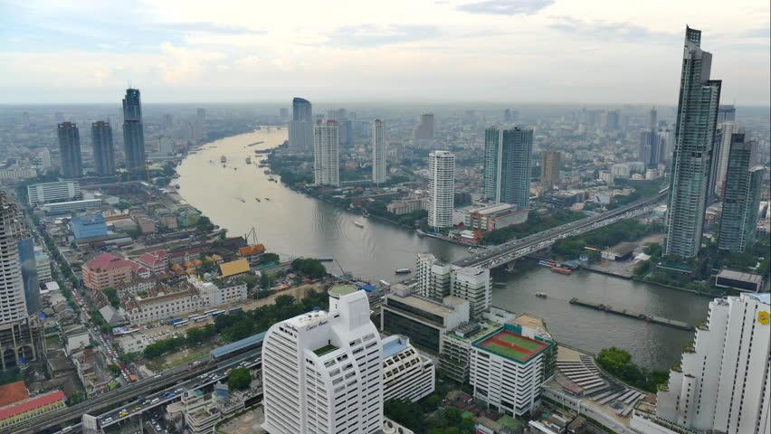 4K Time lapse Bangkok city in Thailand   Shutterstock HD Video #18391351