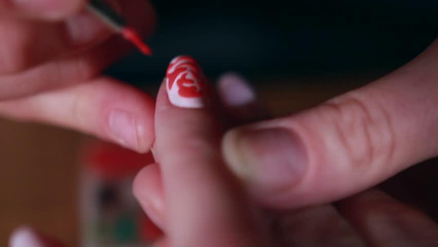Woman in a Beauty Salon receiving a manicure   Shutterstock HD Video #18432664