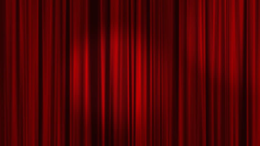 Red Curtains with spotlights that move back and forth | Shutterstock HD Video #1848898
