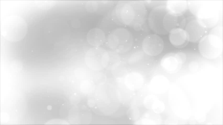 Slow Silver Bokeh Blur Background #18517805