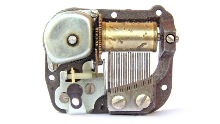 Music box mechanism. Seamless loop