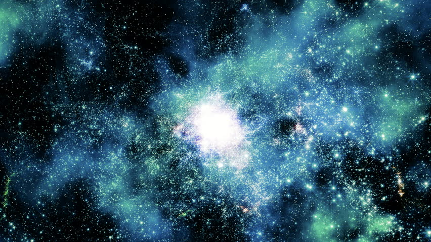 Space 2181: Traveling through star fields in outer space (Loop).   Shutterstock HD Video #18534197