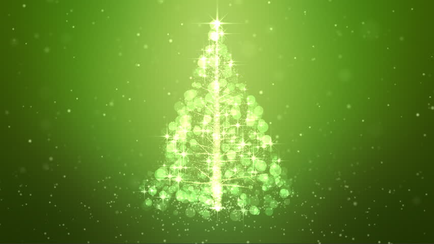 Loopable Animated Christmas Tree Background. | Shutterstock HD Video #18566243