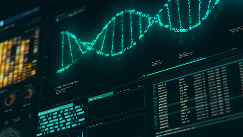 Analyzing Dna Structure Forensic Research Stockvideoklipp Pa Helt Royaltyfria 18576188 Shutterstock