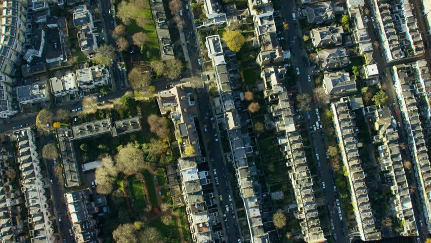 Aerial view of Kensington Palace London UK   Shutterstock HD Video #18716453