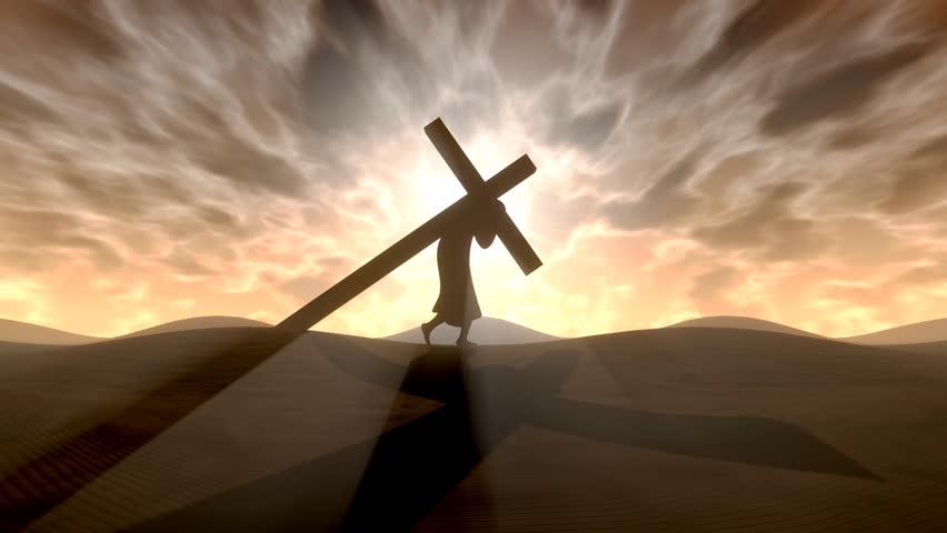 Carrying the cross | Shutterstock HD Video #1888360