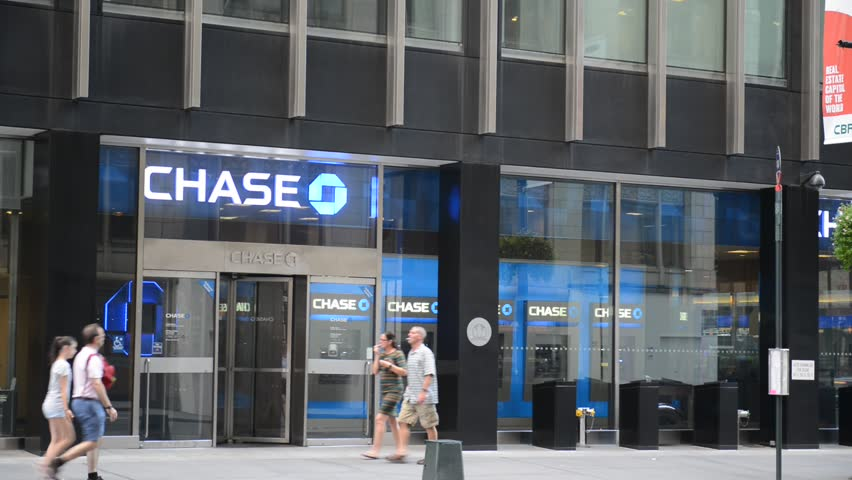 NEW YORK - CIRCA AUGUST 2016. Many politicians are advocating reinstating the Glass Steagall Act, which separated commercial and investment banking activities at banks such as JPMorgan Chase