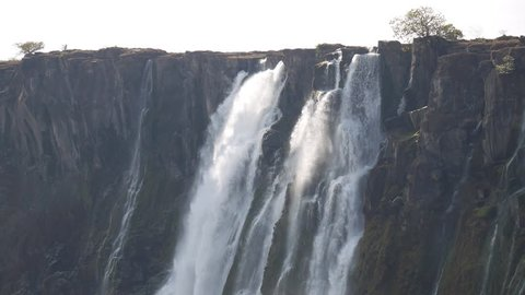 View of Victoria Falls from Zambia side