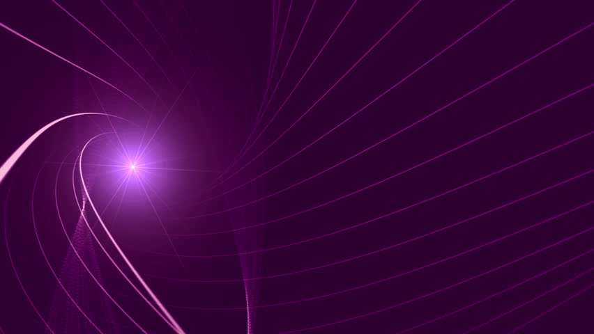 Shiny 3d lines slowly moving on abstract background with lens flare effect. | Shutterstock HD Video #18992533
