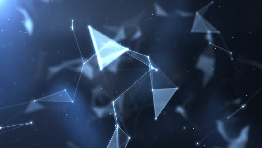 Plexus abstract network titles cinematic background | Shutterstock HD Video #19077190